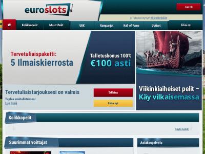 Euroslots on suosittu pelipaikka