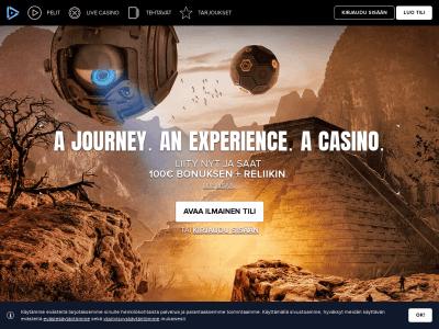 Osallistu seikkailuun Kaboo nettikasinolla